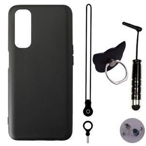 Cell Phone Pouches ITien TPU Silicone Protect Cover Case For TCL L9 L7 Plus L5 GO 20 SE 5G Lanyard Ring Pen Gel Shell Etui Skin