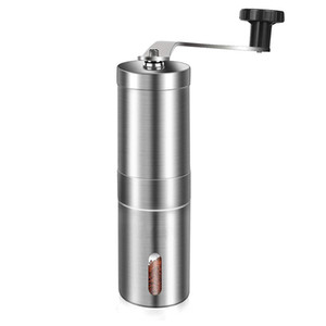 Custom Logo! Coffee Grinder Bean Mills Manual Stainless Steel Portable Kitchen Grinding Tools Perfumery Cafe Bar Handmade coffee