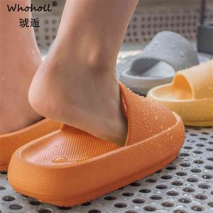 Women Shoes Summer Fashion PU Leather Leisure Platform Wedges Fish Mouth Sandal Thick Bottom Slippers 210622