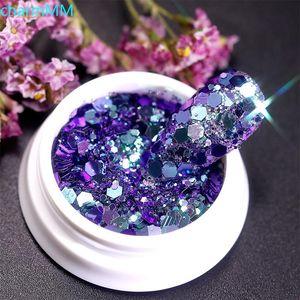 Nail Glitter Holographics Aurora Pailletten Voor Nagels Vlokken Gemengde Hexagon Spangles Gel Paillette Manicure Decoraties