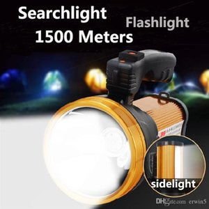 Jeanight Super Bright Flashlight Long Distance Led Searchlight Lantern Portable Flashlights Hunter Lamp Rechargeable Light Lamp