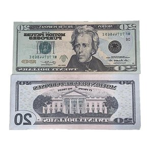 3f Currency US Magic Show Shooting Props Dollar Gift Movie Money Copy Bill Toys Fake Children's Fast Shipping 100pcs pack Vcmnd Dkcbr