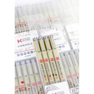 Pigment Liner Micron Pen Neelde Weiche Bürste Zeichnung Stift Los 005 01 02 03 04 05 08 1.0 Pinsel Art Marker F Jllvvj