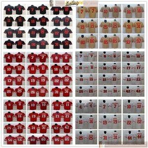 NCAA Football 26 Tevin Coleman 44 Kyle Juszczyk 54 Fred Warner 56 Kwon Alexander 99 Deforest Buckner Dee Ford Jerseys Man Donne Giovani