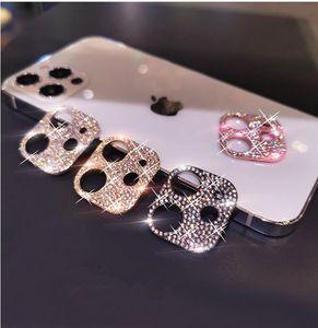 IPhone adecuado para 12 iPhone 12 Max Diamond Mobile Shell Lens Película Mini 11PRO MAX PRO TRASERA FLASH FLASH AGUA ANILLO TELÉFONO DE PROTECTOR DQAWB