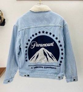 Cotton clothing high-end quality 2020 winter new product imported denim cotton fabric fashionable foreign warm jacket handsome style