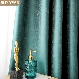 Curtain & Drapes 21 Nordic Curtains For Living Dining Room Bedroom Light Luxury Modern High-end American Brocade Window
