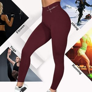 ZCXQM Fitness Push Up Leggings Femmes Elastic Slim Sports Sports Yoga Collants Leggings Femelle Plus Taille Taille High Taille High Workout Gym Pants