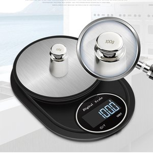 2kg 0.1g Household Kitchen Scale High Precision LED Display Portable Mini Electronic Weighing Baking ScalesTool