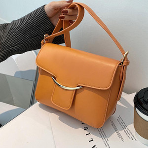 Niche Design High-end Handbags New Style 2021 Fashionable Crossbody Bag Popular Square Bag Underarm Dual-use Width: 23cm