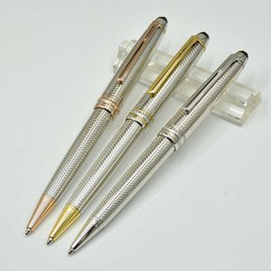Papeterie Papeterie Haute Qualité administrative Qualité Silver Classics Promotion Écrire des stylos de recharge pour cadeau d'affaires I3PC