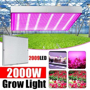 2000W 2009leds LED Grow Lamp Full Spectrum LED Plant Growth Lamp Indoor Lighting Grow Light Plant Hydroponic System Box