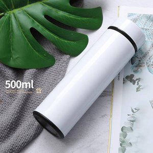17OZ Blank Sublimation Life Cup Diy Sumblation Cup Thermal Transfer Coated Cup Water Tumbler Coffee Mugs WWA133