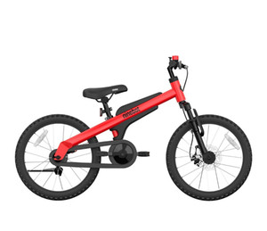 Ninebot Kids Bike by Segway 18 Inch, Red, Premium Grade,Recommended Height 3'9'' - 4'9''