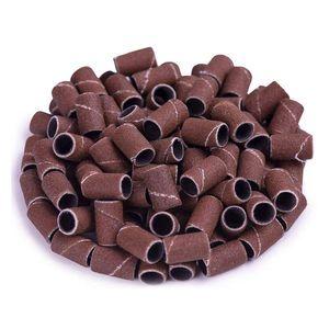 500pcs جلخ حزام المهنية مانيكير 180 الحبوب الكهربائية ملف الرمال كتلة مجموعة