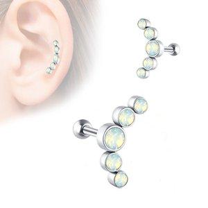 Pierce Jewelry Stainless Steel Czech Drill Earnail Simple Earring Earbone Nail