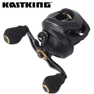 Kastking Eagle Baicasting Bouleau de pêche 7 +1 Boule à billes en acier inoxydable blindée 8kg Max drag freins magnétiques Bobine de pêche