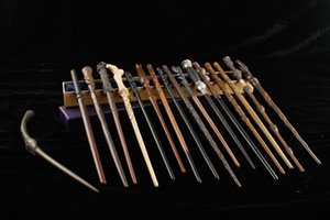 88 estilos Newest Metal Core Harry Ron Ginny Snape Wand Lord Voldemort Cosplay Magical Wand Novidade Itens
