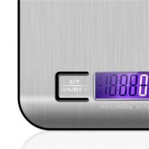 Paslanmaz Çelik Mutfak Ölçeği Elektronik Tartı 5 KG 10 KG Ev Mutfak Ölçeği Mini Gram Takı Said 721 K2
