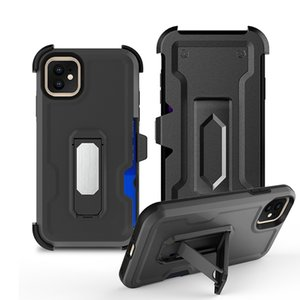 3 in 1 Hybrid Defender Phone Cases For Samsung Galaxy A02S A52 A72 A32 5G With Belt Clip A