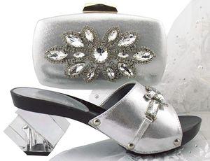 Beautiful peach women pumps with big crystal flower design bag for dress african shoes match handbag set QSL006,heel 7.5CM