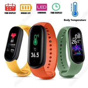 M5 PRO Body Température Smart Bracelets Smart Bracelet Fitness Tracker Smart Bracelet Reloj Pulsera Inteligente Smartwatch Montres Libre