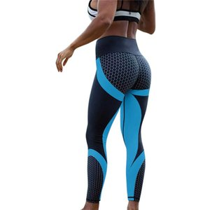 Printed Yoga Pants Women Push Up Professional High Waist Running Fitness Gym Sport Leggings Tight Trouser Pencil Leggins #BL3