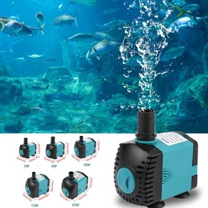 Ultra Silent Submersible Pump for Aquarium, Fish Tank, Pond, Water Filter and Fountain Tools, 3   6 10 15 25w