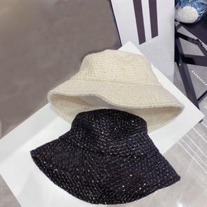 Весна и осень письмо сплетенные ведра шляпа женские суррогатные большие Breim солнцезащитный бассейн шляпа шляпа