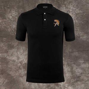 패션 핫 PP 폴로 셔츠 브랜드 타이거 남성 디자이너 의류 반팔 Calssic 해골 럭셔리 티셔츠 고품질 캐주얼 티 M-3XL