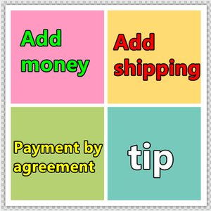 Order privately and not ship Add money Add shipping Payment by agreement tip