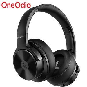 Наушники сотового телефона OneoDio A30 Беспроводная гарнитура ANC 5.0 Наушники Актуальные шумоподавления Стерео на ушных наушниках с MIC для