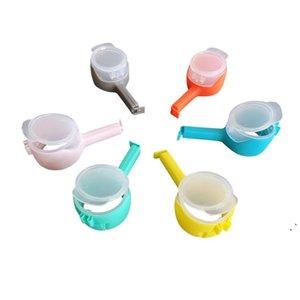 Versiegelung Clip Snack Food Seal gießen Kunststoff Aufbewahrungstasche Clips Feuchtigkeitmäßiger Auslass Kunststoff Tasche Clip Snack Bag HWE4996