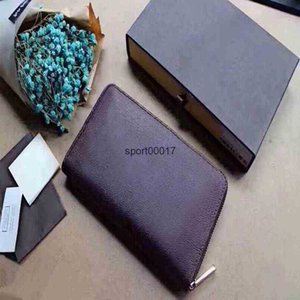 famous Classic Standard Wallets Fashion Leather Long Purses Moneybags Zipper Pouch Coin Pockets Note Compartment Clutch