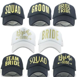 Europe and the United States bride tribe NET hat quick sell Amazon hat shade golden letter arrow baseball hat tide