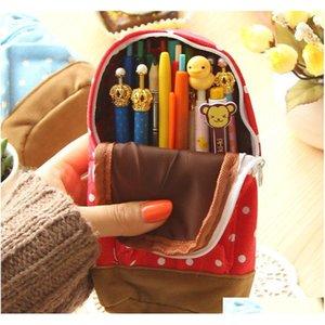 Wholesale-Crayon Boîte Crayon Boîte Sac à dos Enfants Papeterie Astuccio Scuola Trousse Outils scolaires Estuchanes Schoo JLLLCB HomeCart