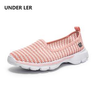 Sob ler 2021 verão novo net respirável moda feminina sapatos