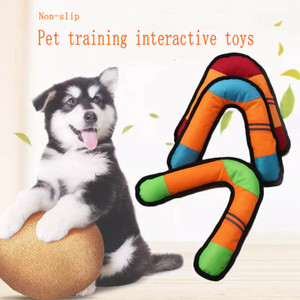 Darts molar dog toy Dog Chewing Toy Dog Cat Oxford cloth Foam Chewing Toy Milky Scented Flat Bones Molar Teether Pet Supplies