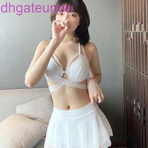 Kadın 2020 Açı Güney Düz Kore Konservatif Bölünmüş Etek Yeni Kaplıca Swimsuit Bikini