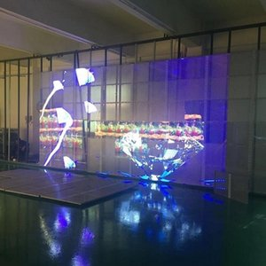 p3.91 p7.81 p15.25 p31.25 p50 outdoor transparent  mesh led display screen glass led video wall