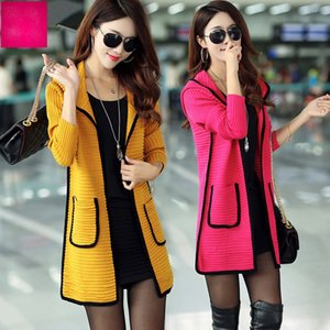 2021 Spring and Autumn New Female Wild Shirt in Section the Knitted Cardigan Jacket Becc
