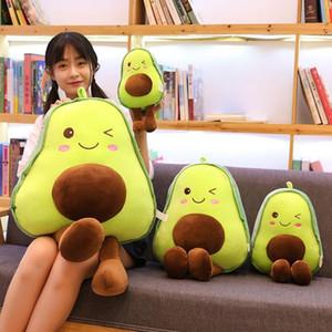 30-85cm Avocado Plush Toys Cute PillowCushion Kawaii Fruit Stuffed Doll Toy For Children Throw Pillow Birthday Gift