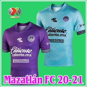 2020 2021 Mazatlán FC Soccer Jersey 20/21 Mazatlan Home Viola Away Blue Ble Bition Quality Mazatlan Camiseta de Futbol Camicie di calcio