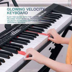 61 key music instrument keyboard biginner standard key electronic piano keyboard
