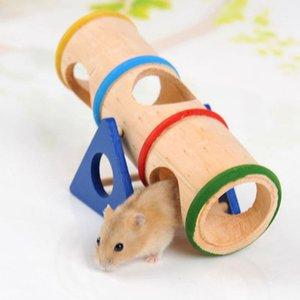 Pet Small Animal Playground - Деревянная игрушка Seesaw для маленьких животных карликовых хомяков и мыши