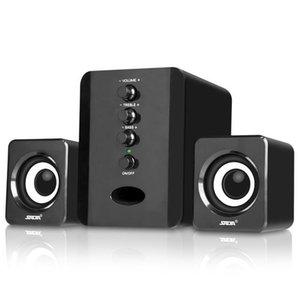 كامل المدى 3D ستيريو مضخم صوت 2.1 سماعات الكمبيوتر الصغيرة المحمولة باس الموسيقى دي جي مكبرات الصوت الكمبيوتر المحمول لتلفزيون الهاتف المحمول