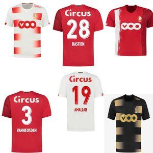 20 Standard Liège Jerseys Soccer Accueil Liege Vanheusden Laifis Bastien Amlalah Cimirot 2020 2021 T-shirt Jersey de football adulte