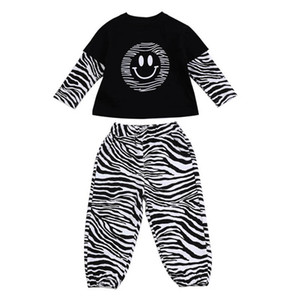 Kids Sets Baby Suits Children Outfit Cotton Long Sleeve Stripe T Shirts Pants 2Pcs Casual Tracksuit Girls Clothing Boys Clothing B4135
