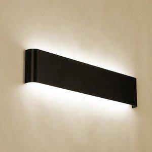 Atacado Moderno e Simples Creative Bedside Sala de estar Corredor Escadaria Corredor de Parede LED Lâmpada de parede de alumínio