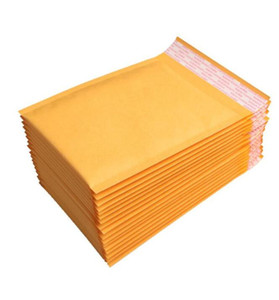 New 100pcs lots Bubble Mailers Padded Envelopes Packaging Shipping Bags Kraft Bubble Mailing Envelope Bags 130*110mm